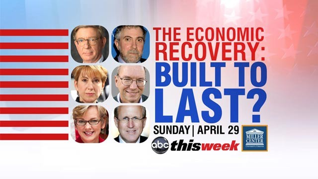 PHOTO: The Economic Recovery: Built to Last?