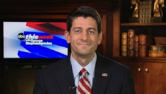 "PHOTO: Republican Vice Presidential Nominee Paul Ryan on ""This Week."""