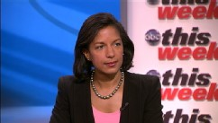 "PHOTO: US Ambassador to the United Nations Susan Rice on ""This Week."""