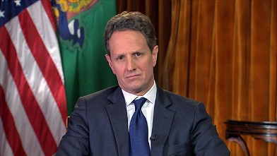 PHOTO: Treasury Secretary Timothy Geithner on 'This Week'.