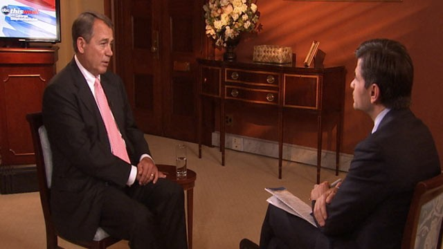 PHOTO: Republican House Speaker John Boehner compared trying to pass a bill in the House of Representatives to keeping