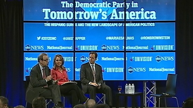 VIDEO: Jake Tapper, Ron Brownstein and Maria Elena Salinas host panel on Hispanics in politics.
