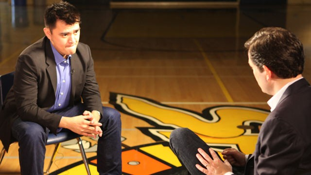 PHOTO: Jose Antonio Vargas was interviewed by ABC News' Dan Harris.