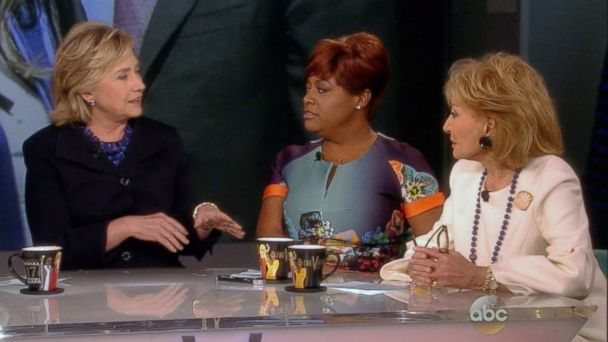 abc view hillary clinton  walters 140516 16x9 608 Hillary Clintons Surprise Advice for Barbara Walters