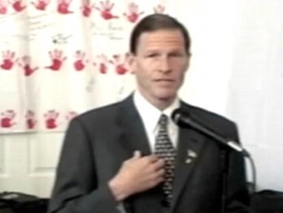 VIDEO: Richard Blumenthal denies report that he misstated his service in Vietnam.