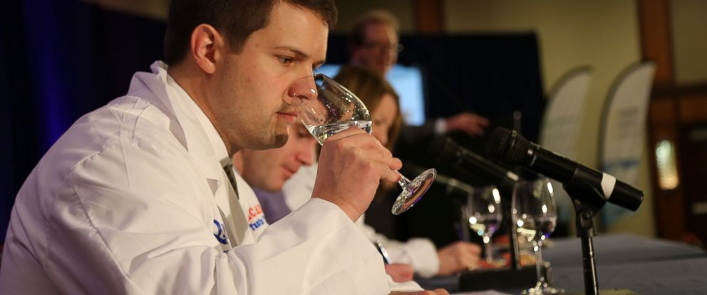 "PHOTO: Jasper Schneider tastes water at the 16th annual ""Great American Water Taste Test"" in Washington."
