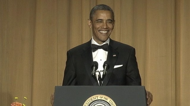VIDEO:Obama takes jabs at various news networks during opening round of jokes at White House Correspondents? Dinner.