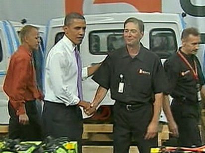 VIDEO: President Obama to tout auto industry revival in trip to Detroit.