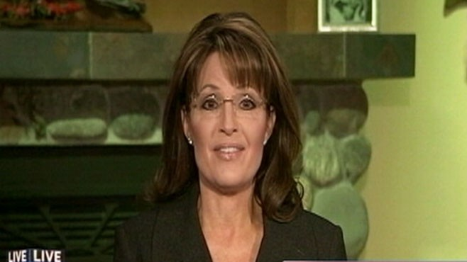 VIDEO: Sarah Palin speaks out after being criticized for comments about the Tucson shootings.