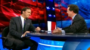 VIDEO: Jake Tapper talks to Stephen Colbert about fact-checking on This Week.
