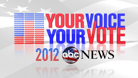 abc your voice your 14F6424 wblog YOUR VOICE, YOUR VOTE: ABC News Announces Coverage of the 2012 Presidential and Vice Presidential Debates