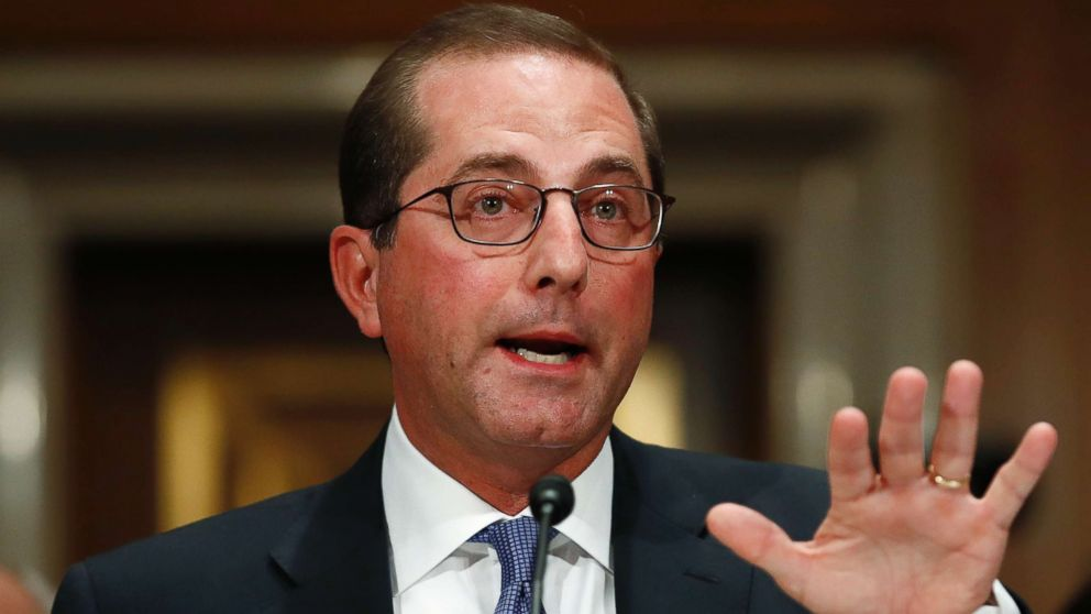 Lawmakers question HHS nominee on drug industry ties, position on the Affordable Care Act