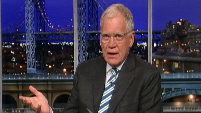 VIDEO: David Letterman bashes Governor Chris Christie on his weight.