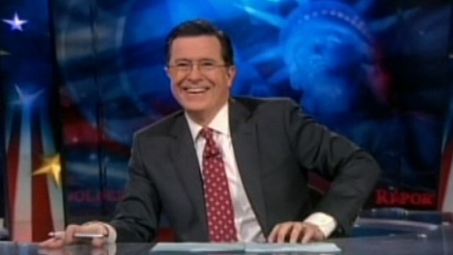 "VIDEO: Stephen Colbert's ""Americans for a Better Tomorrow"" raises more than $1 million."