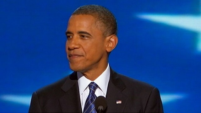 VIDEO: President Obama gives speech at DNC.