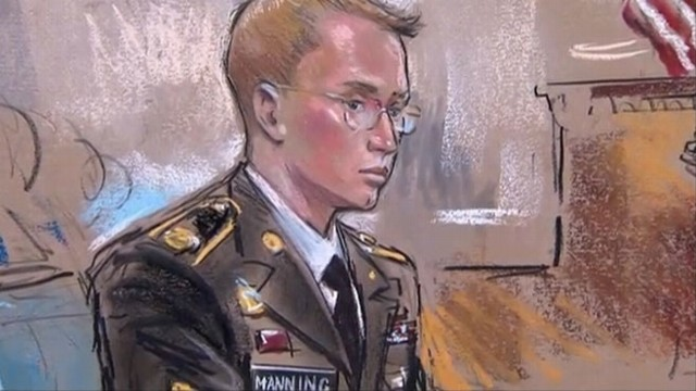 VIDEO: Former Army intelligence analyst faces 22 charges, including aiding the enemy.