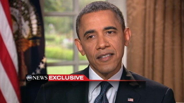 VIDEO: ABC News Rick Klein weighs in on the presidents stance on same-sex marriage.