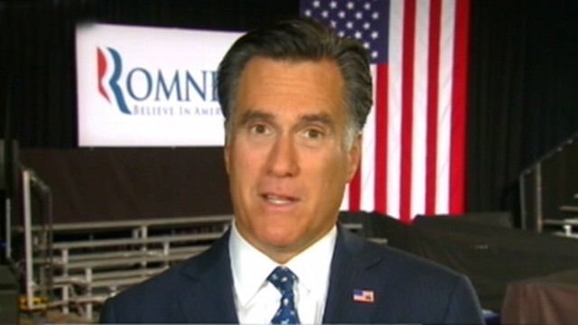 VIDEO: GOP front-runner Mitt Romney's campaign is focusing on the middle class.
