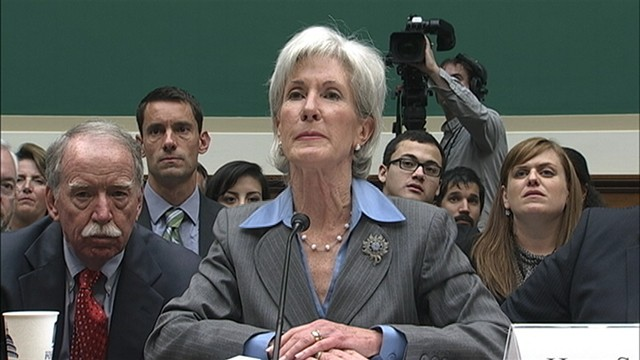 VIDEO: HHS Secretary Kathleen Sebelius testifies on Capitol Hill.