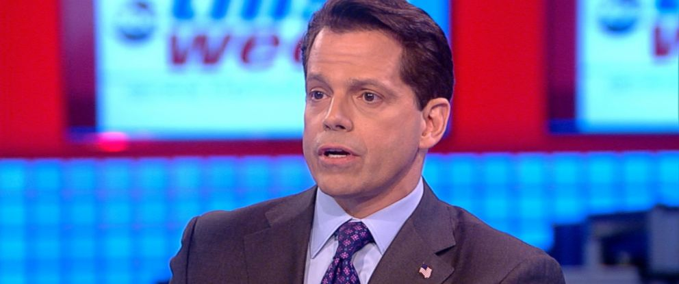 PHOTO: Anthony Scaramucci appears on This Week, Aug. 13, 2017.