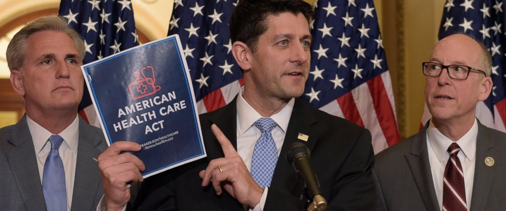 PHOTO: House Speaker Paul Ryan of Wis., speaks during a news conference on the American Health Care Act on Capitol Hill in Washington, March 7, 2017.