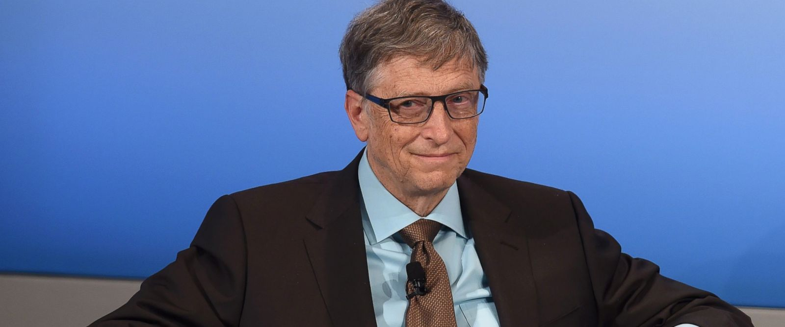PHOTO: Microsoft founder Bill Gates on Feb. 18, 2017 at the 53rd Munich Security Conference (MSC) at the Bayerischer Hof hotel in Munich, Germany.