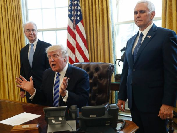 ANALYSIS: Defied by Republicans, President Trump crashes into sharp realities