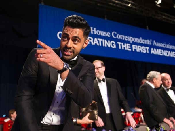 Hasan Minhaj hammers Trump at Correspondents' Dinner: 'He can't take a joke'