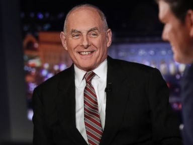 Kelly: Trump campaign promises on border wall have 'evolved'