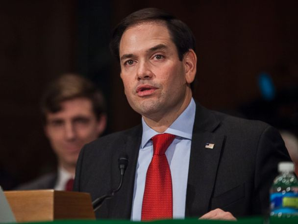Rubio Says He'll Support Donald Trump's Pick for Secretary of State