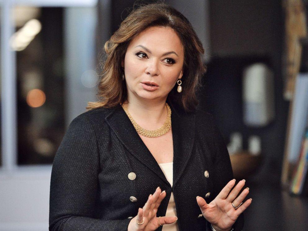 PHOTO: Kremlin-linked lawyer Natalia Veselnitskaya speaks to a journalist in Moscow, Nov. 8, 2016.