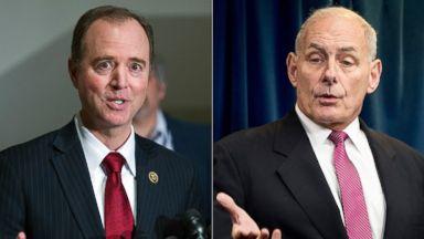 Sunday on 'This Week': DHS Secretary John Kelly and Rep. Adam Schiff