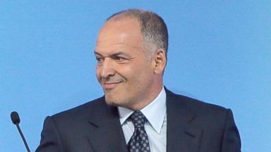 PHOTO: Ukrainian tycoon and philanthropist Viktor Pinchuk attends a meeting organized by the Yalta European Strategy (YES) in partnership with the Victor Pinchuk Foundation at the Mystetsky Arsenal Art Center in Kiev, Ukraine, Sept. 12, 2015.