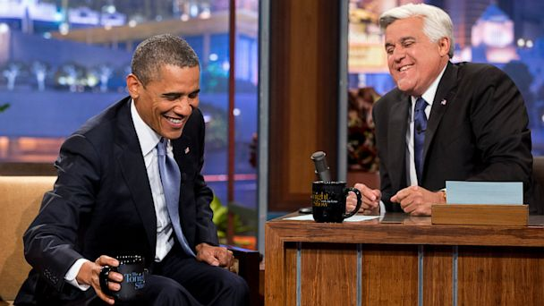 ap Obama Leno mj 130806 16x9 608 Obama To Leno: Hillary Clinton Has the Glow