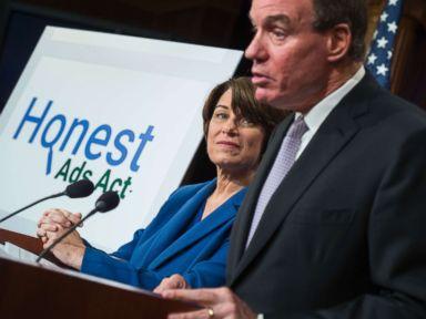 Senators push bill to prevent Russian-linked election ads online