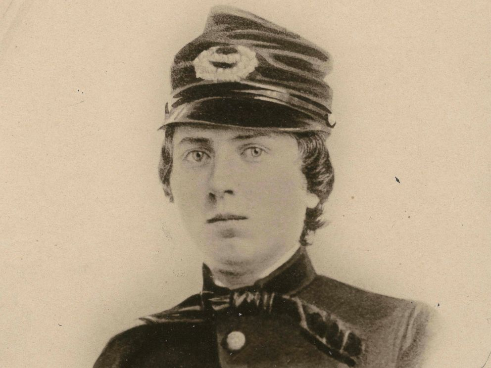PHOTO: A undated file photo provided by the Wisconsin Historical Society shows First Lt. Alonzo H. Cushing.