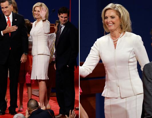 Ann romney dress