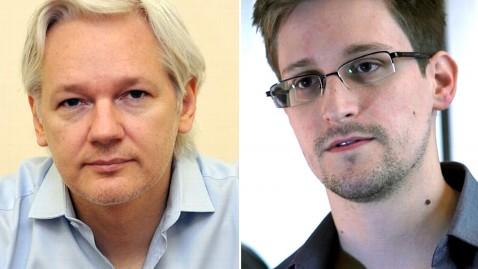 ap assange snowden nt 130619 wblog Assange Says WikiLeaks Helping Snowden Get Asylum in Iceland