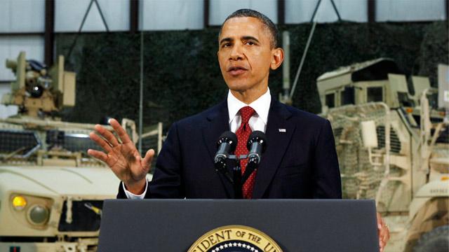 PHOTO: President Obama at Bagram Air Field