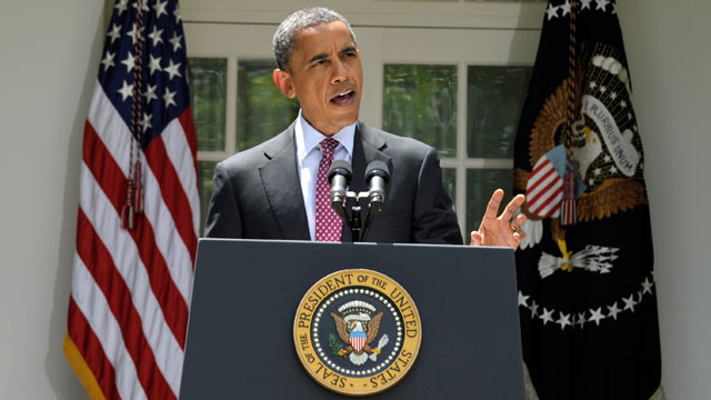PHOTO: President Barack Obama speaks on immigration policy changes during a statement in the Rose Garden of the White House, Washington D.C., June 15, 2012.