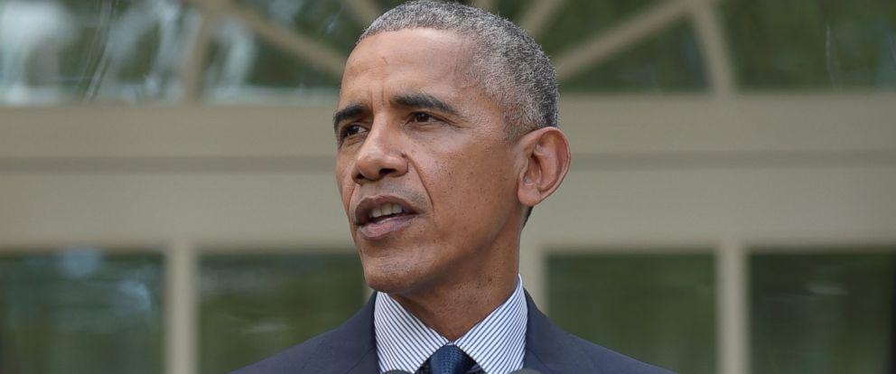PHOTO: President Barack Obama speaks in the Rose Garden of the White House in Washington, Oct. 5, 2016.