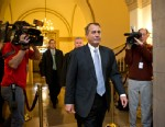 PHOTO: House Speaker John Boehner of Ohio arrives on Capitol Hill in Washington,DC on Dec. 31, 2012, as leaders in the Senate and the House face pressure to find a legislative path to head off the automatic tax hikes and spending cuts set to take effect J