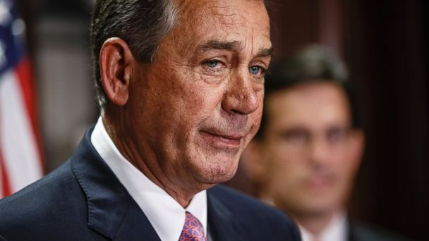 ap boehner kb 140429 16x9 608 Boehner, Back in DC, Denies Mocking GOP Colleagues in Video