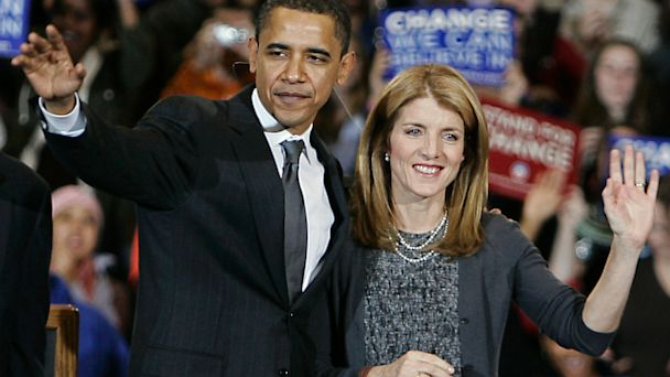 ap caroline kennedy barack obama ll 130724 16x9 608 Caroline Kennedy Tapped as Next Ambassador to Japan