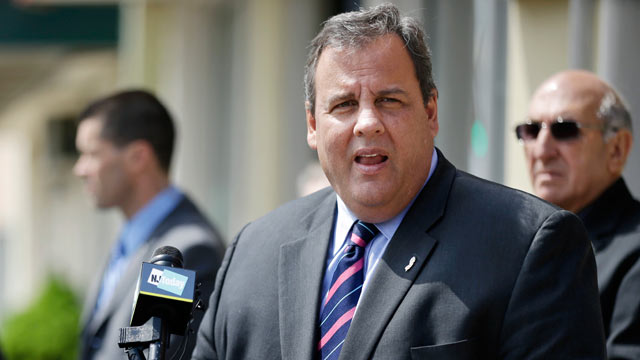 PHOTO: New Jersey Gov. Chris Christie is leading his gubernatorial campaign opponent, Barbara Buono, by 30 points.