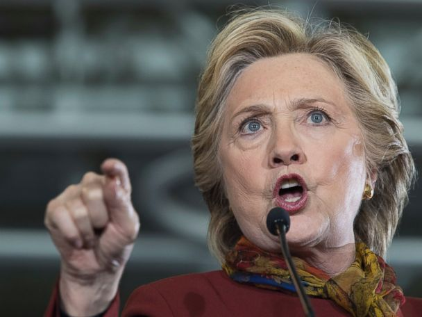 Clinton Fires Back at Trump's Gettysburg Address, Threat to Sue Accusers