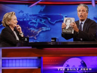 No Joke: Clinton Tells Stewart Leaders Face 'Hard Choices' on Gaza Crisis
