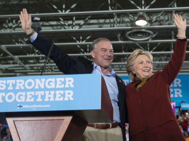 Clinton and Kaine Pledge Unity in Pennsylvania