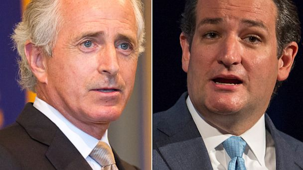 ap cruz corker jtm 130926 16x9 608 GOPers Clash On Senate Floor Over Government Shutdown