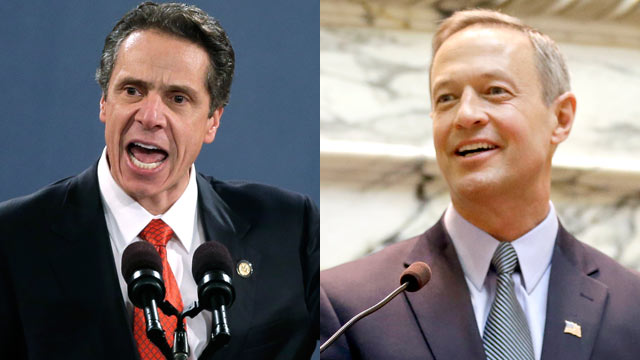 PHOTO: New York Gov. Andrew Cuomo and Maryland Gov. Martin OMalley both want to enact gun legislation that would make each of their states the toughest in the country.